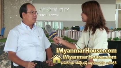 Swe Daw City project မွတာဝန္ရွိသူ ဦးမ်ိဳးဝင္းႏွင့္ အင္တာဗ်ဴး - Property Interview from iMyanmarHouse.com