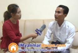 Fuji Real Estate မွ General Manager U Aung Myo Tun နွင့္ အင္တာဗ်ဴး