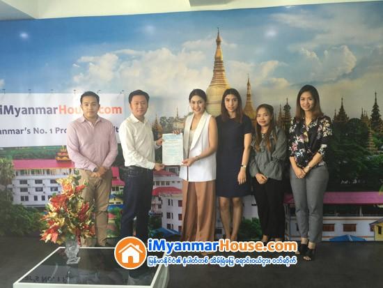 iMyanmarHouse.com (အိုင္ျမန္မာေဟာက္စ္ေဒါ႔ကြန္း) ႏွင့္ ထိုင္းႏိုင္ငံ ဘန္ေကာက္အေျခဆိုက္ Angel Real Estate အိမ္ၿခံေျမကုမၸဏီတို႔ အက်ိဳးတူပူးေပါင္းလုပ္ေဆာင္ရန္ သေဘာတူ လက္မွတ္ေရးထိုး - Property News in Myanmar from iMyanmarHouse.com