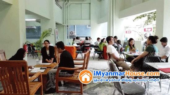 ေရာင္းအားေကာင္းခဲ့တဲ့ စံရိပ္ၿငိမ္ဂမုန္းပြင့္အနီး႐ွိ နဝရတ္ကြန္ဒို အထူးအေရာင္းျပပဲြ - Property News in Myanmar from iMyanmarHouse.com