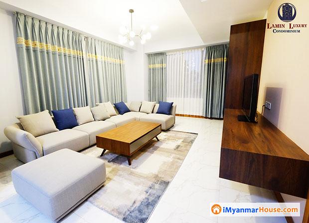 ကန္လမ္းရွိ Lamin Luxury ကြန္ဒို