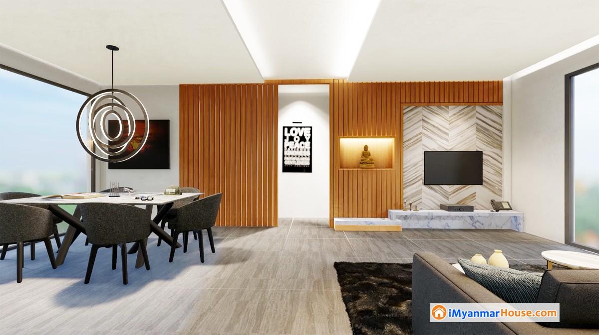 ေရႊတိဂံုေစတီေတာ္ျမတ္ႀကီးကို ေန႔စဥ္အနီးကပ္ ဖူးေမ်ွာ္ႏိုင္မည့္ The Vista Luxury Residence