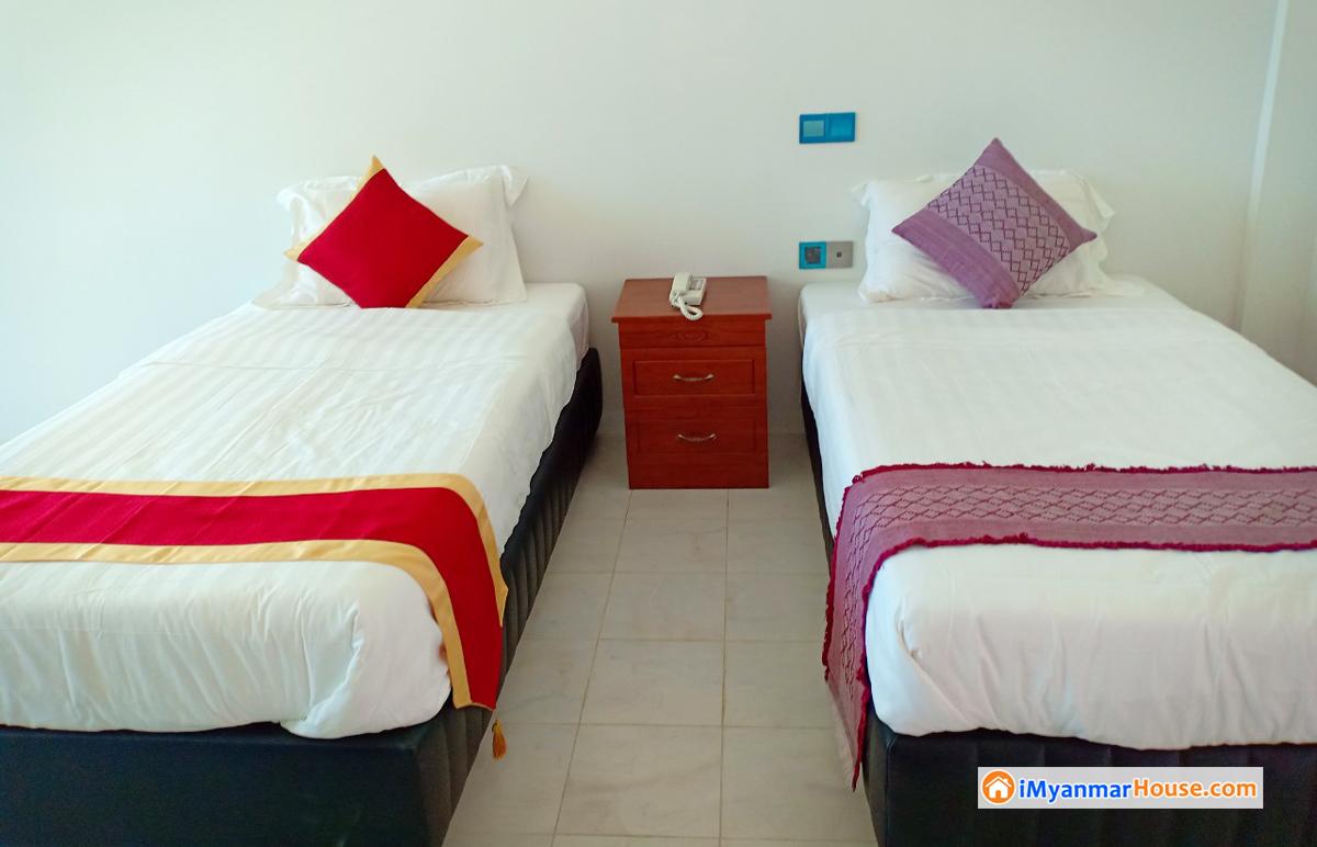 Kangyi Paradise တြင္ ေဖာ္ေဆာင္ေနေသာ ေျမကြက္ ႏွင့္ Service Apartment