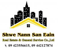 Shwe Nann San Eain Real Estate & General Services Company Limited